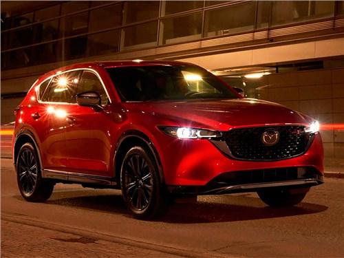 Представлена обновленная Mazda CX-5