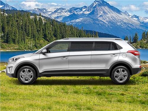 Представлена семиместная Hyundai Creta – она уже устарела!