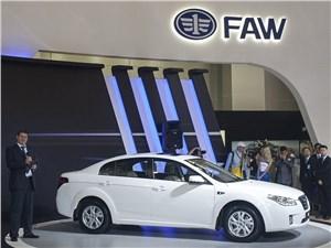 За полгода в России продали почти три тысячи автомобилей марки FAW