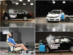 Определена самая безопасная модель автомобиля в Китае