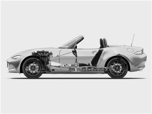 Mazda MX-5 2015 вид сбоку