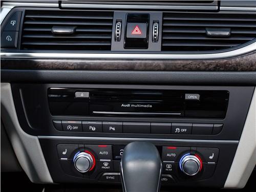 Audi A6 2015 центральная консоль