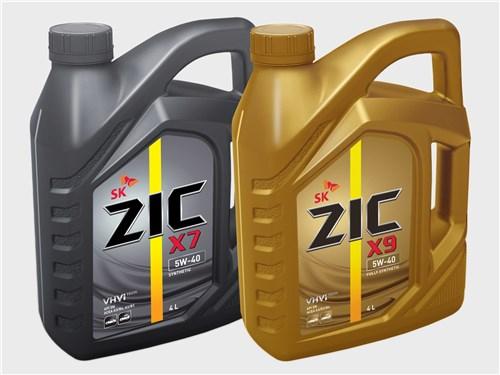 ZIC X9 5W-40 и ZIC X7 5W-40