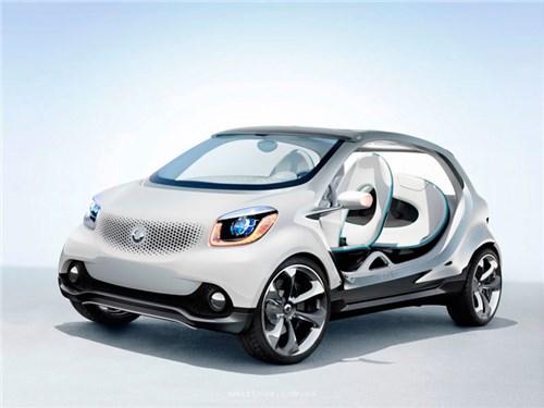 Mercedes-Benz и Geely разработают новый Smart