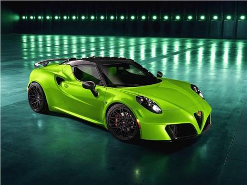 Pogea Racing | Alfa Romeo 4C вид спереди сверху
