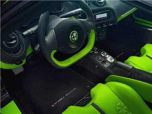 Pogea Racing | Alfa Romeo 4C салон