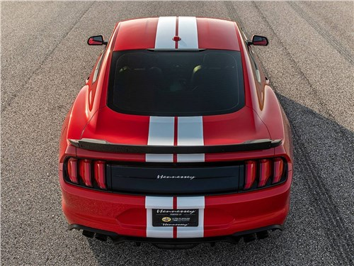 Hennessey | Ford Mustang вид сзади