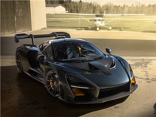 Novitec | McLaren Senna вид спереди