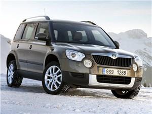 Skoda Yeti с дизельным двигателем будет продаваться со скидкой 60 тысяч рублей