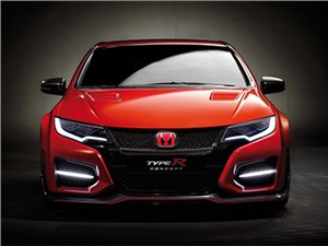 Honda представила в Женеве новый Civic Type R