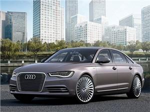 Audi готовит серийную версию гибридного седана A6 L e-tron