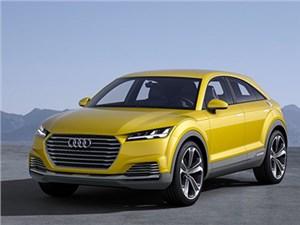 В Пекине дебютировал концептуальный внедорожник Audi ТТ нового поколения