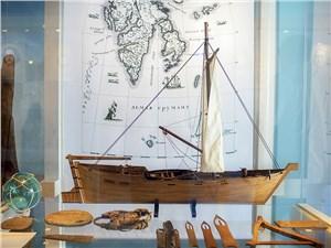 В небольшом музее Северного флота можно увидеть модели кораблей – от древних до современных