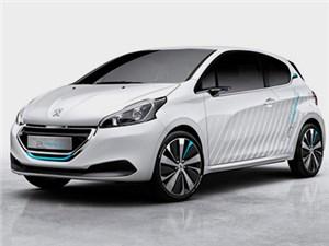 В октябре Peugeot покажет в Париже сверхэкономичный концепт гибридного хэтчбека 208