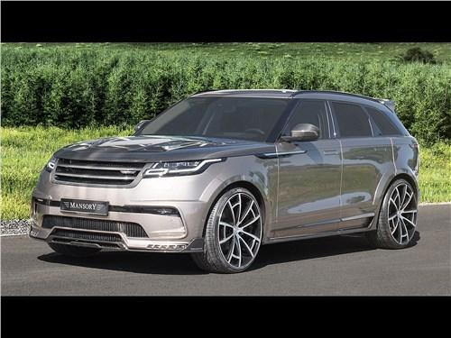Mansory | Range Rover Velar вид спереди