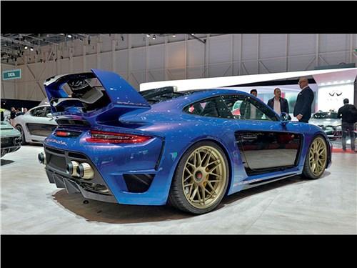 Gemballa | Porsche 911 Turbo вид сзади