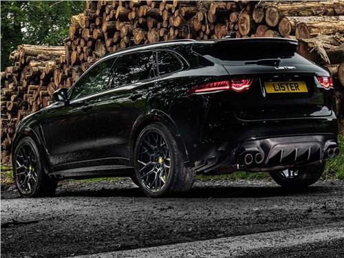 Lister | Jaguar F-Pace SVR вид сзади