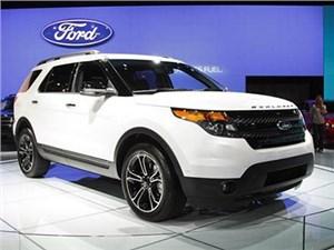 Ford вывел на российский рынок кроссовер Explorer нового модельного года