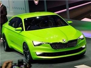 Skoda Superb нового поколения получит гибридную силовую установку
