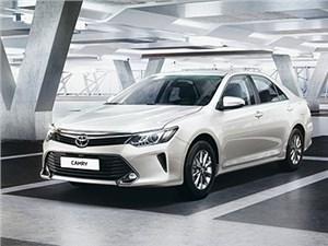 Новое поколение седана Toyota Camry теперь выпускается в Санкт-Петербурге