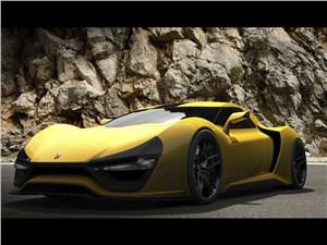 Предпросмотр trion supercars nemesis 2015 вид спереди