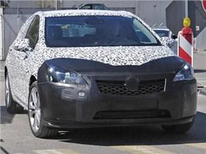 Opel Astra нового поколения уже проходит дорожные тесты