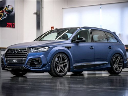 ABT Sportsline | Audi SQ7 вид спереди