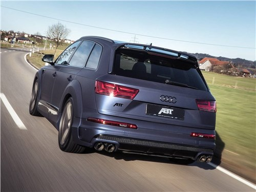 ABT Sportsline | Audi SQ7 вид сзади