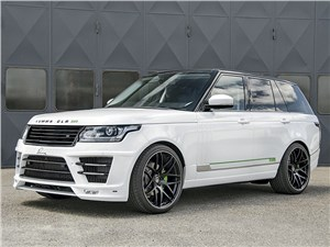 Lumma / Range Rover вид спереди