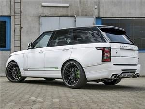 Lumma / Range Rover вид сзади