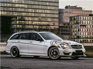 Loewenstein Manufaktur / Mercedes-Benz C 63 AMG Estate вид спереди
