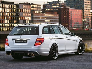 Loewenstein Manufaktur / Mercedes-Benz C 63 AMG Estate вид сзади