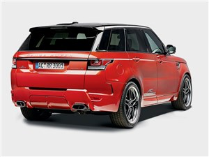 AC Schnitzer / Range Rover Sport вид сзади
