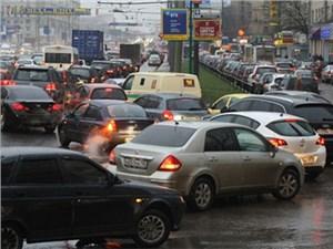 Загруженность московских дорог за год снизилась на четверть