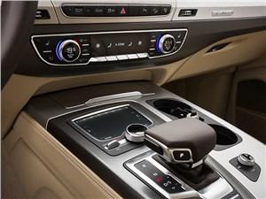 Audi Q7 2015 центральная консоль