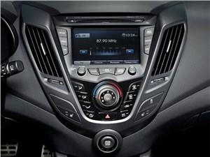 Hyundai Veloster 2016 центральная консоль
