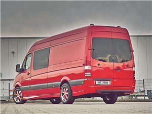 Hartmann / Mercedes-Benz Sprinter вид сзади