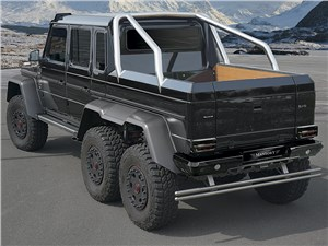 Mansory / Mercedes-Benz G 63 AMG 6x6 вид сзади