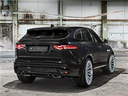 Hamann | Jaguar F-Pace вид сзади