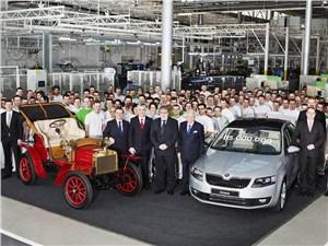 Skoda выпустила 15-миллионную машину