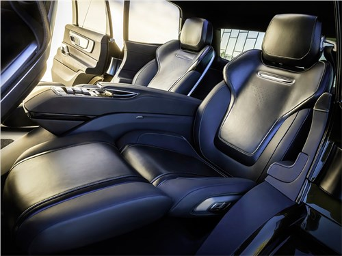 Предпросмотр kia telluride concept 2016 задний диван