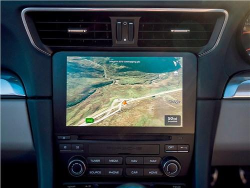 Предпросмотр porsche 911 carrera s 2016 монитор