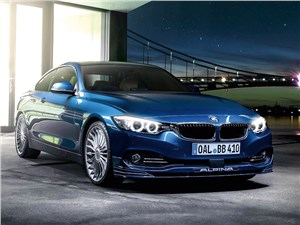 Alpina / BMW 435i Coupe 2014 вид спереди