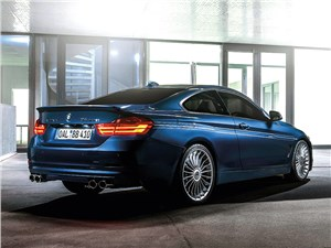 Alpina / BMW 435i Coupe 2014 вид сзади