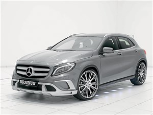 Brabus / Mercedes-Benz GLA вид спереди