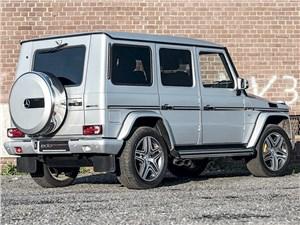 Edo Competition / Mercedes-Benz G 63 AMG вид сзади