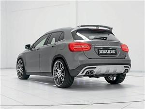 Brabus / Mercedes-Benz GLA вид сзади