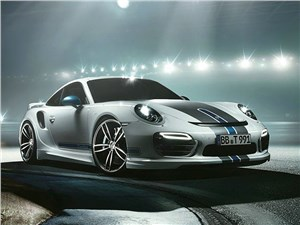 Techart / Porsche 911 Turbo S вид спереди
