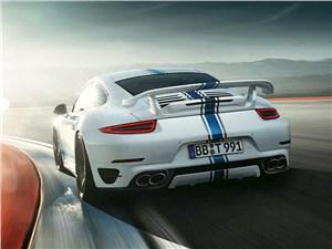 Techart / Porsche 911 Turbo S вид сзади
