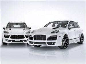 Techart / Porsche Cayenne S Diesel вид спереди